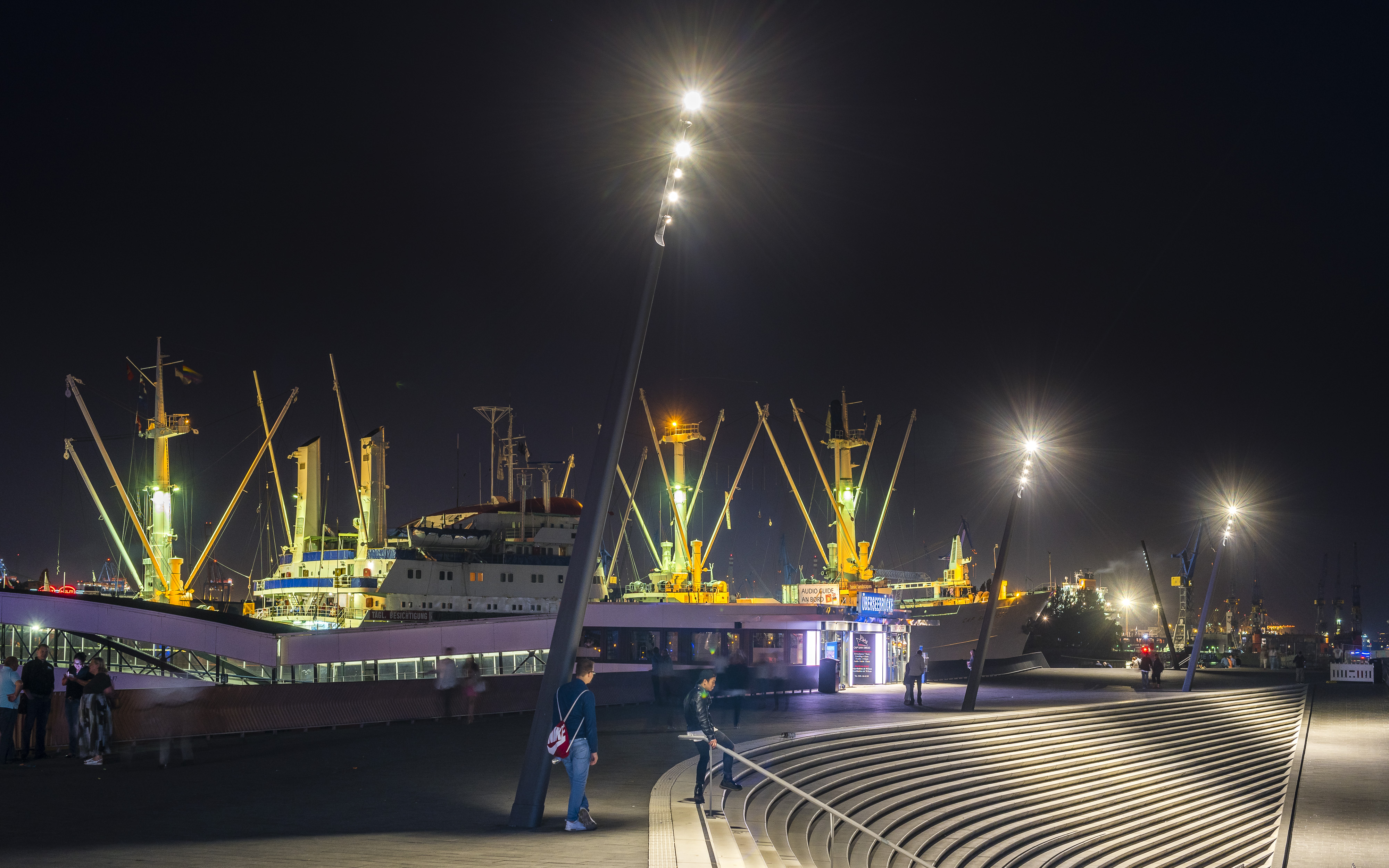 Custom Luminaires for the New Port Promenade Hamburg