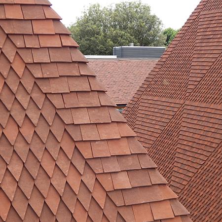 Bespoke Tudor Roof Tiles example