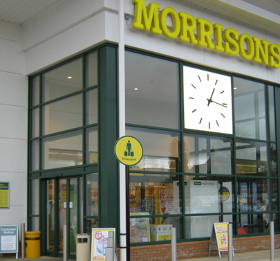Tormax Automatic Sliding Doors At Morrisons Stowmarket