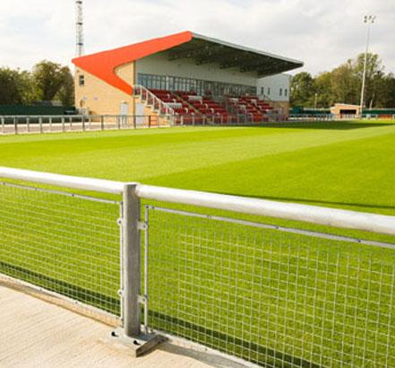 Perimeter Fencing Harlow Town Football Club