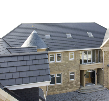 Cassius Clay Roof Tiles In Antique Slate Mark Carney Self