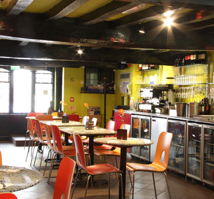 Stannahs New Bottom Drive Microlift For Pizza Express