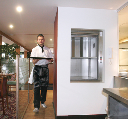 On the waterfront featuring stannah microlifts for Home elevator kit