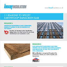 11 Reasons to Specify Earthwool® Rainscreen Slab