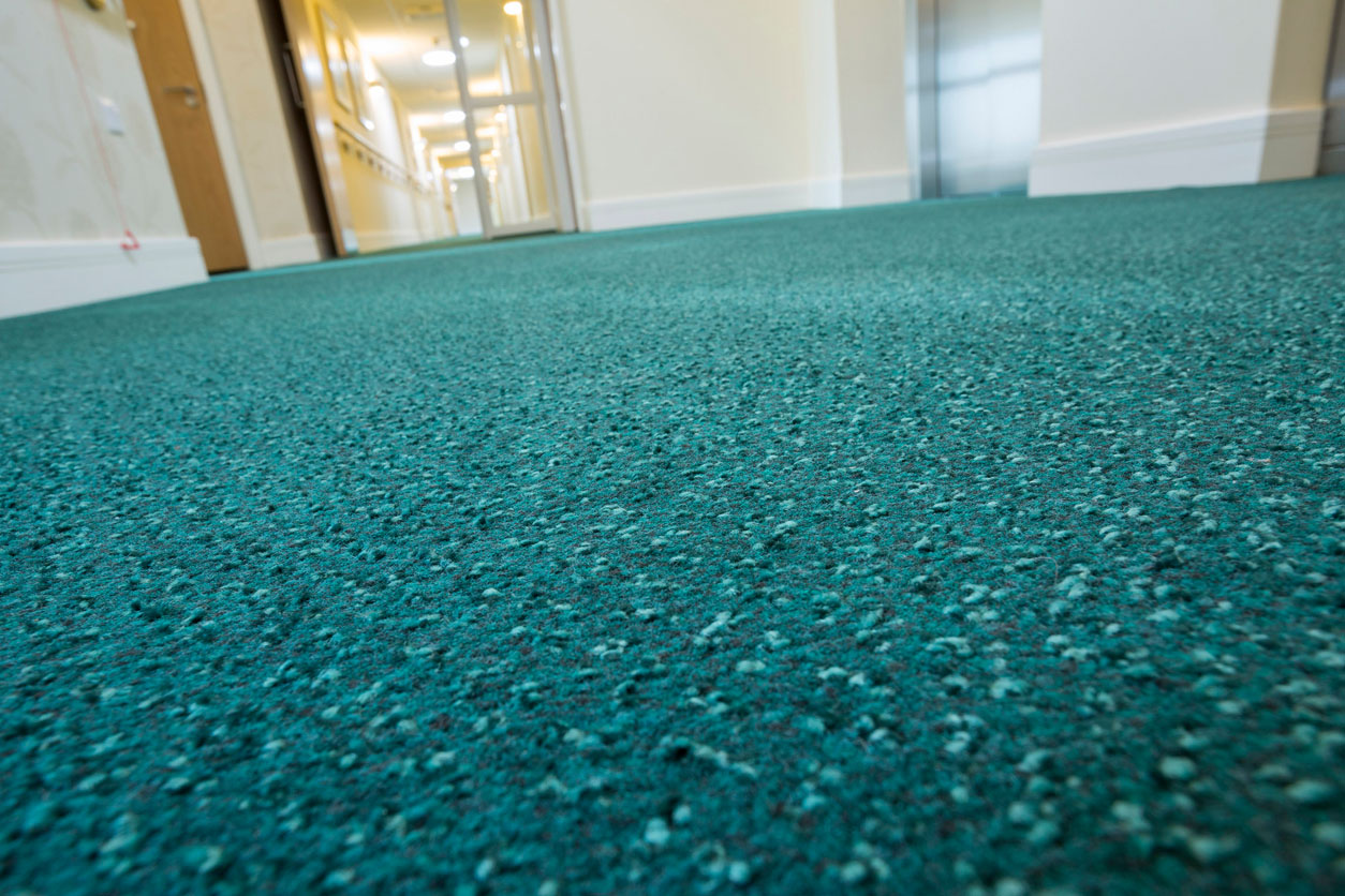 Complete flooring solution for the care sector