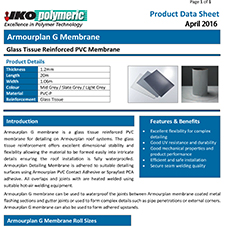 Armourplan G Data sheet
