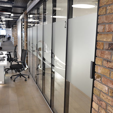 London wall launches new acoustic folding glass wall system for Retractable glass wall system