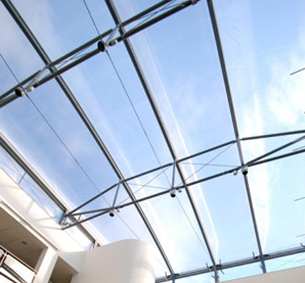 Glazed Patent Glazed Roofs Etfe Novum Structures
