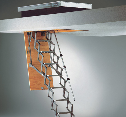 the supreme ladder with insulated roof hatch from premier. Black Bedroom Furniture Sets. Home Design Ideas