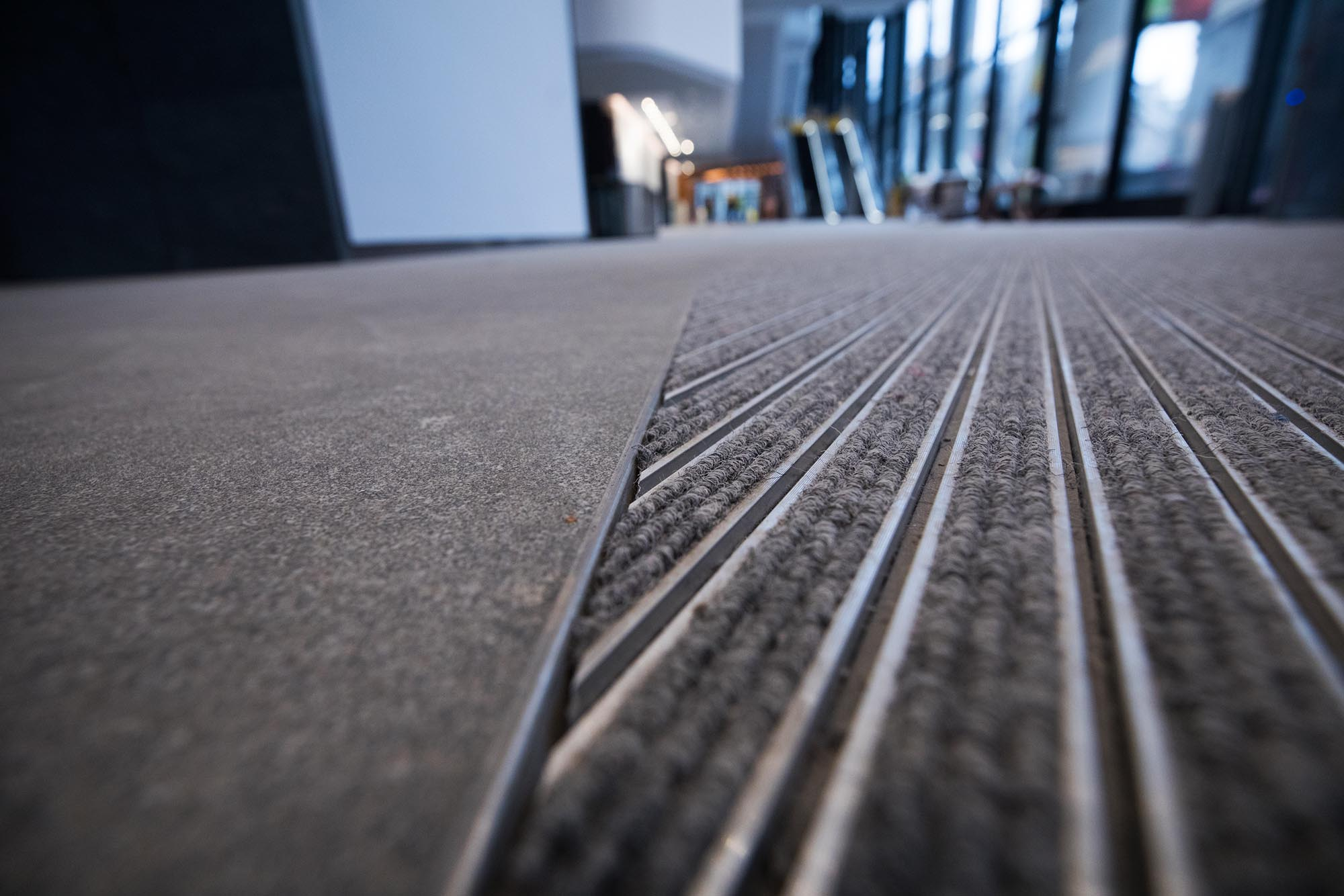 INTRAsystems' entrance matting at 22 Bishopgate blends in perfectly