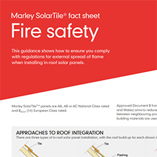 Fire safety data sheet