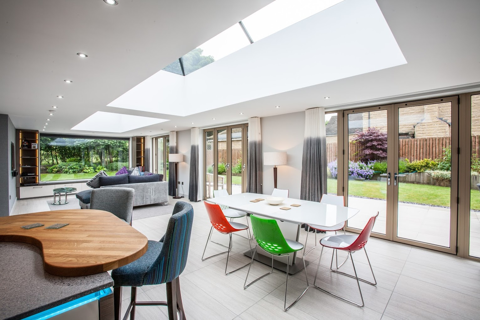 Rooflight Lanterns for contemporary extension