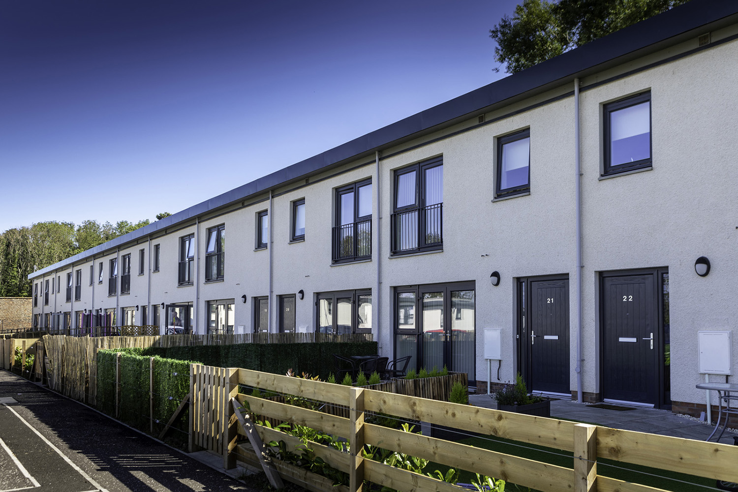 Spectus Elite 70 windows specified for affordable housing scheme