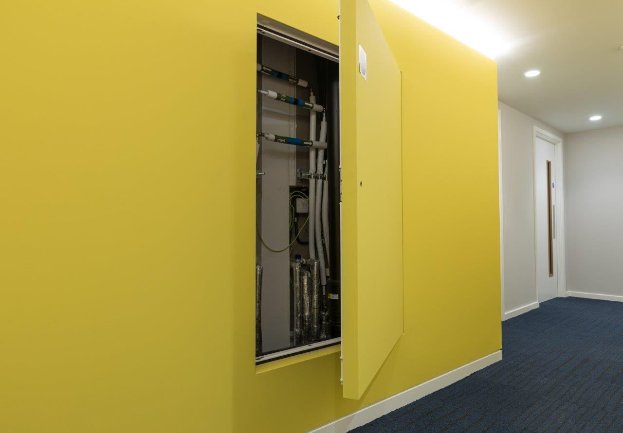 Profab Access rises to the top at Aungier Street Student Accommodation