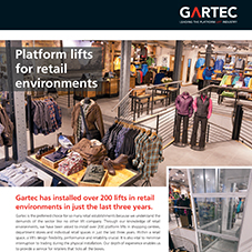 Platform Lifts For Retail Environments