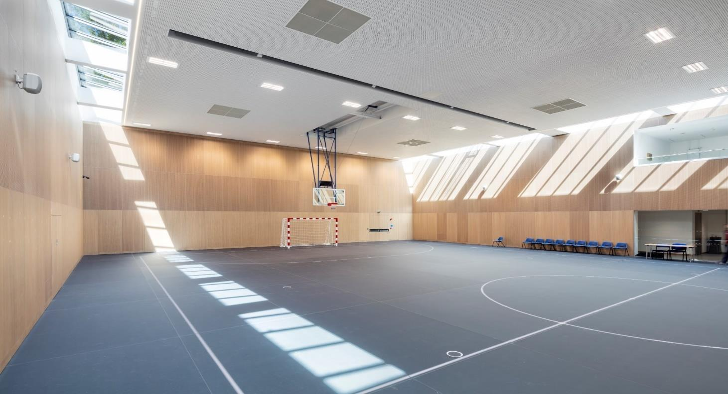 Acoustic Products' Topperfo system chosen by Oxford University Sport Centre