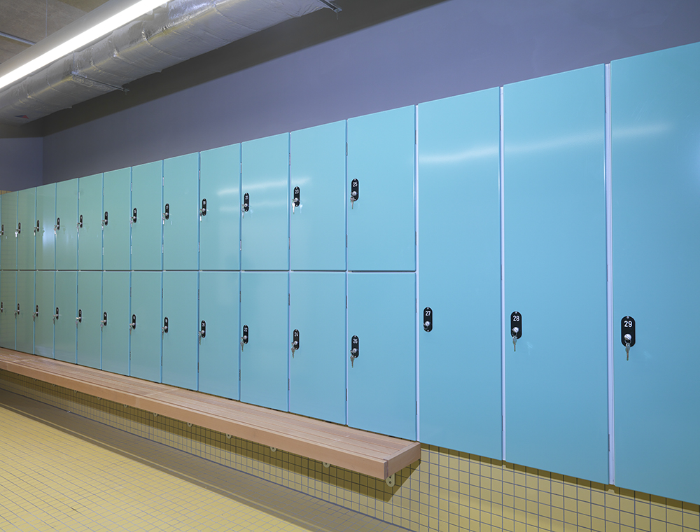 Made-to-measure lockers for Rambert Dance Company