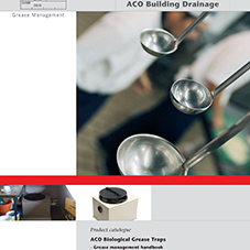 ACO Biological Grease Trap Brochure