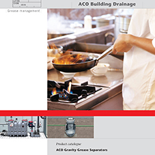 ACO Grease Separators Brochure