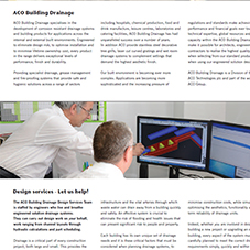 ACO Product Overview Brochur