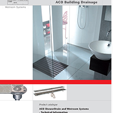 ACO ShowerDrain Tech Data