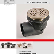 ACO Total Flow Gully Brochure