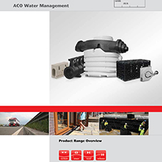 ACO water management product range