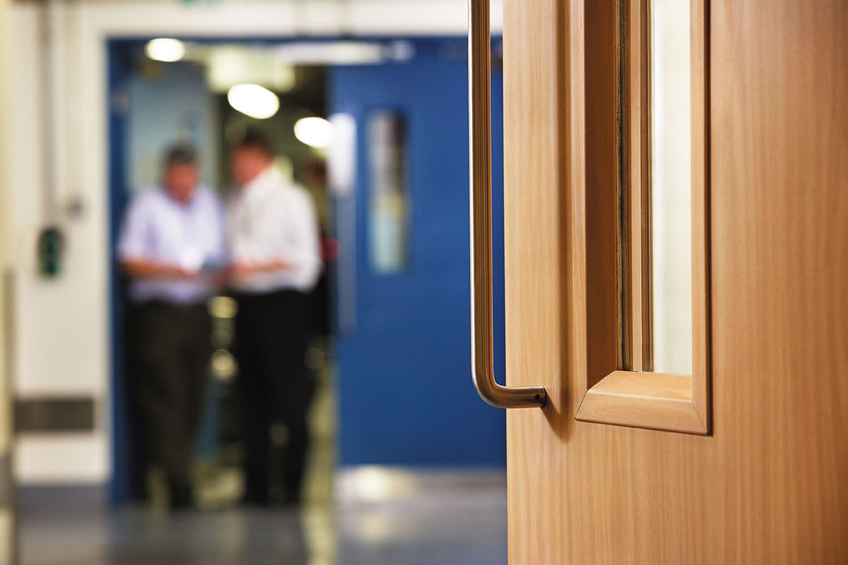 ASSA ABLOY Door Group ticks the boxes for fire door compliance