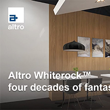 Products: Four decades of Altro Whiterock
