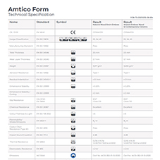 Amtico Form Tech Data Sheet