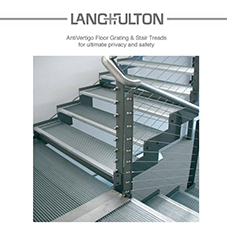 Anti-vertigo Floor Gratings & Stair Treads