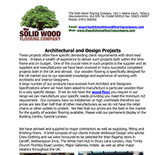 Architectural and Design Projects