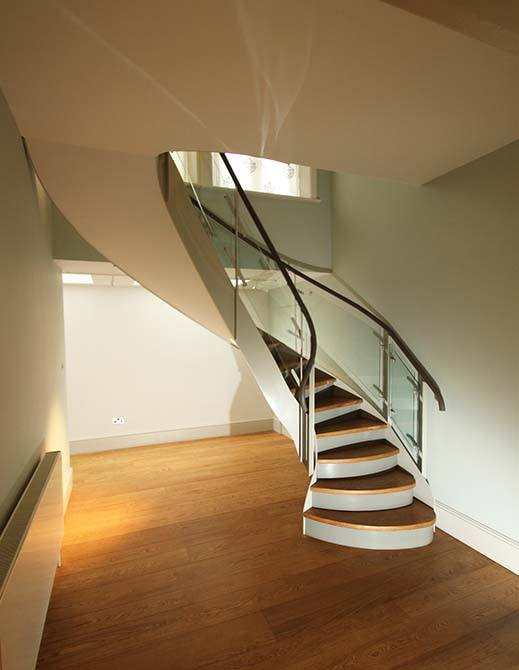 Canal Engineering delivers a stunning helical staircase