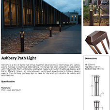 Ashbery Path Light