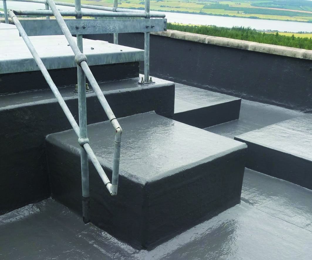 Bauder Liquitop System Cold Applied Roof Waterproofing Offers Cost Effective Solution For Flat Roofs