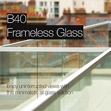 B40 Frameless Glass
