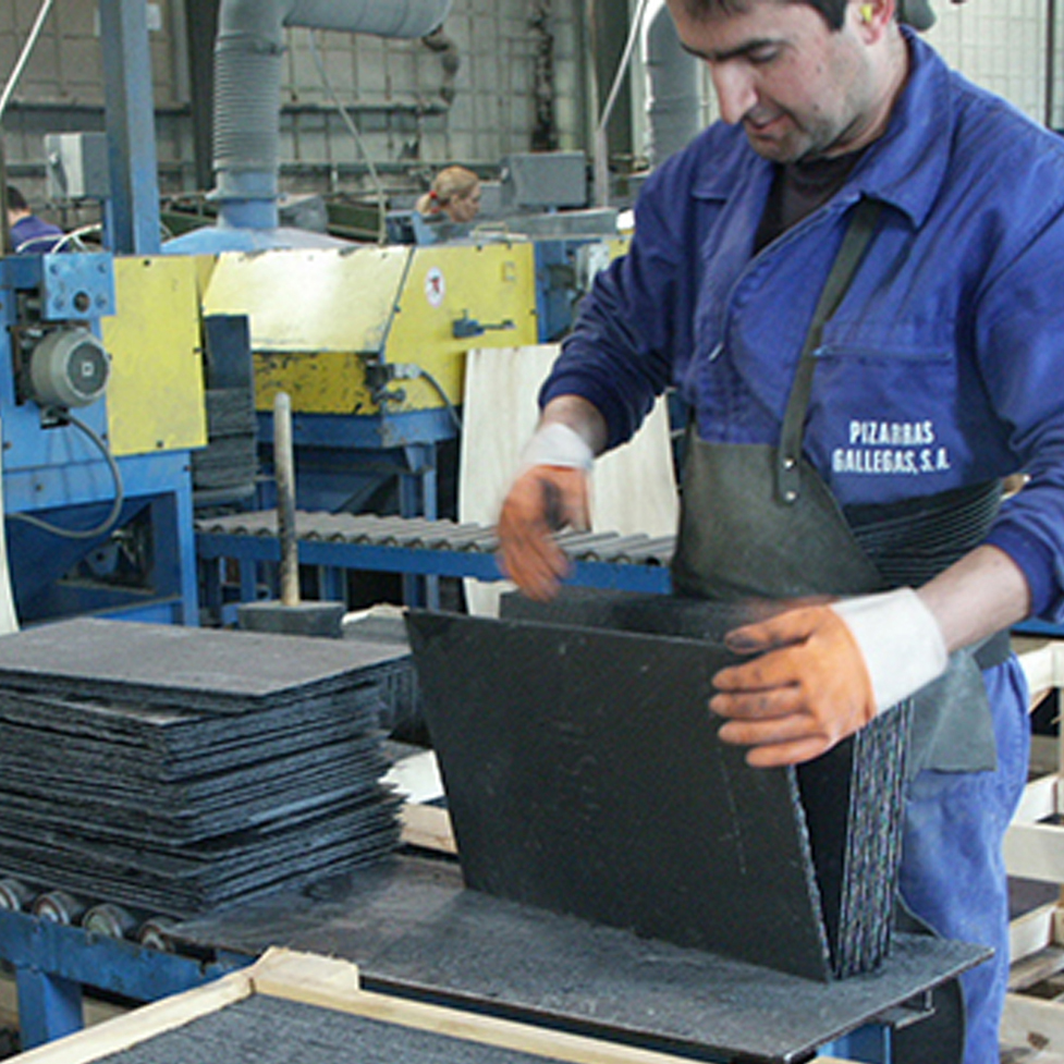 SIGA assess the slate and categorise it into a comparable grading