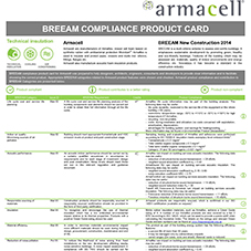 BREEAM Compliance product card