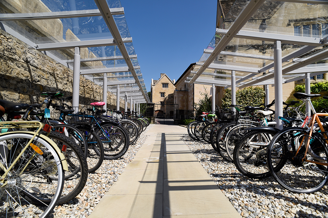 Cycle storage for Magdalen College School