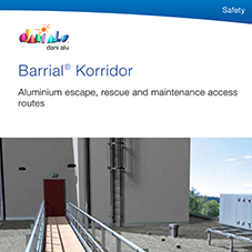 Barrial Korridor roof access walkways & escape routes