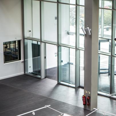 & GEZE provides automatic doors at Birmingham City University
