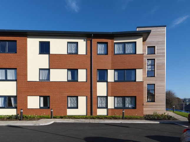 Forterra's County Red Smooth bricks for £6.5M building