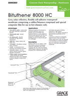 Bituthene Membranes Grace Construction Products