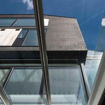 Dark Moroccan Smooth brickwork for eye-catching North London