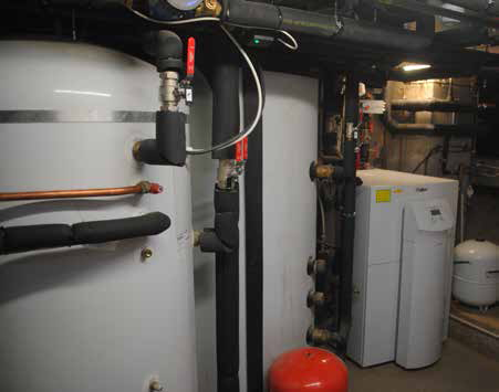Ground source heat pump for Broadfield House extension