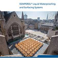 KEMPEROL® Liquid Waterproofing & Surfacing Systems
