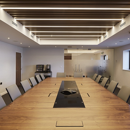 LED lighting for Bull Products office refurb & LED lighting for office refurbishment azcodes.com