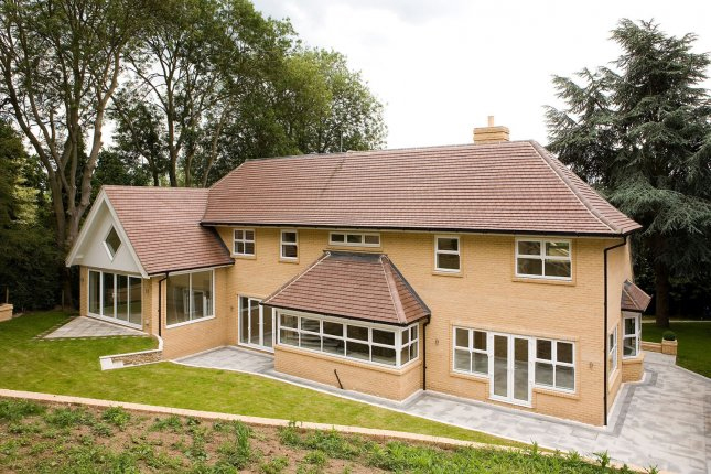 Forterra brick for £1 million contemporary home