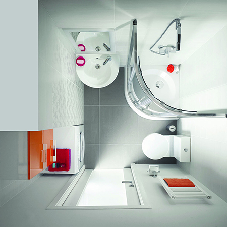 N c compact bathroom solutions for Compact bathroom solutions