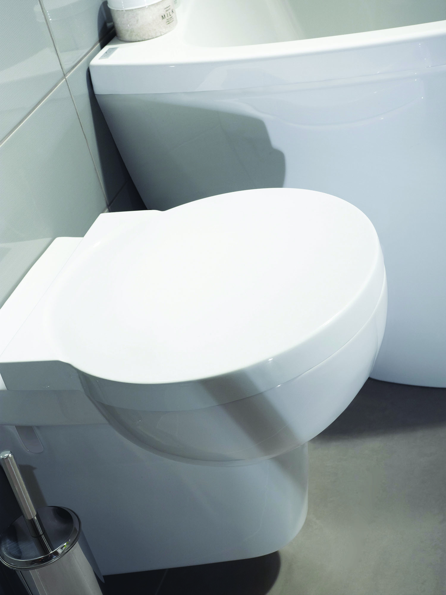 Compact Bathroom Suite toilet